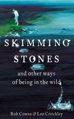 Book cover: a stone skimmer by a lake